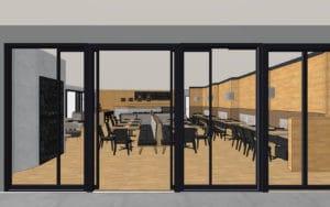 Umgestaltung Restaurant Traumwerk