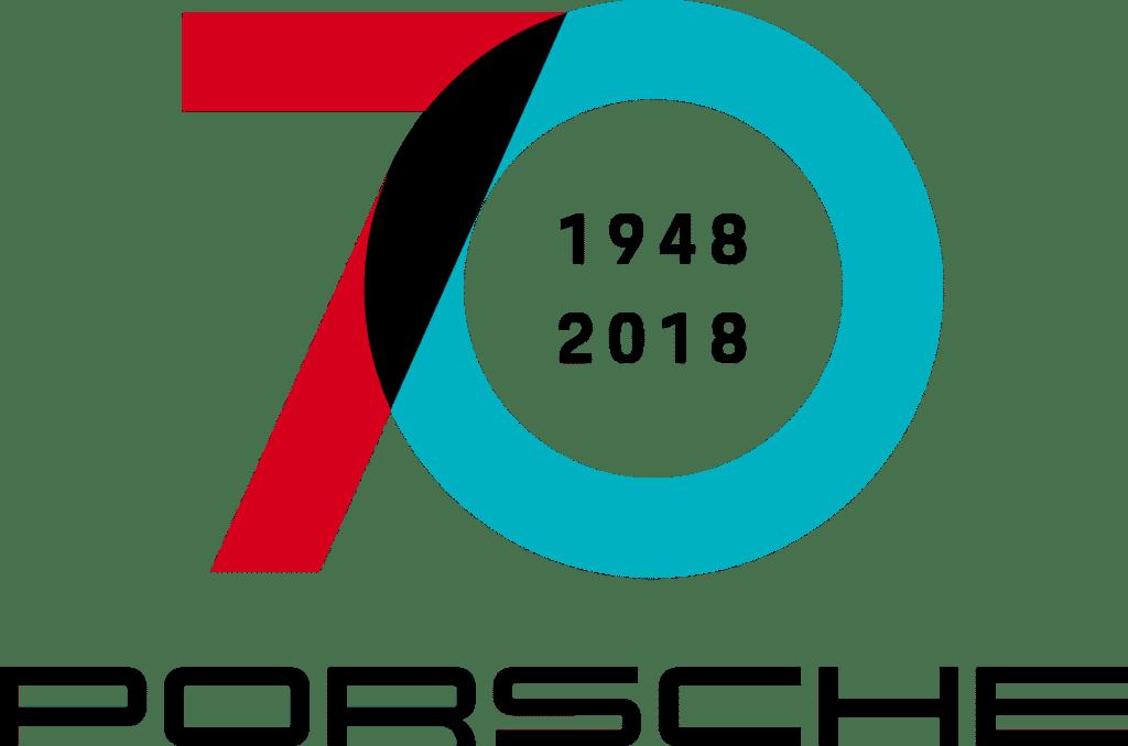 Logo 70 Jahre Porsche