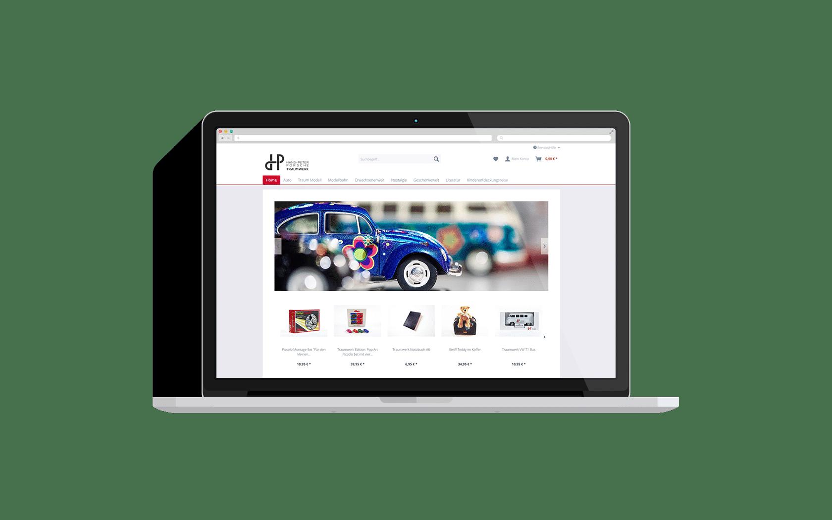 Online-Shop Traumwerk