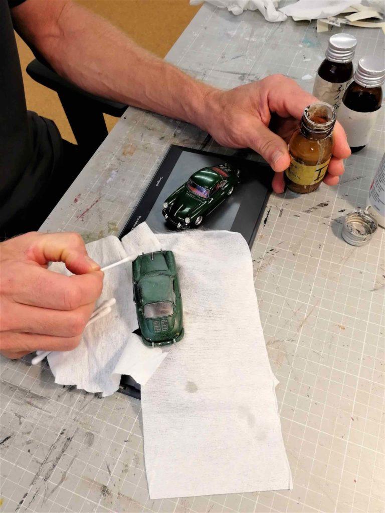 Handarbeit Scheunenfund Porsche 356C
