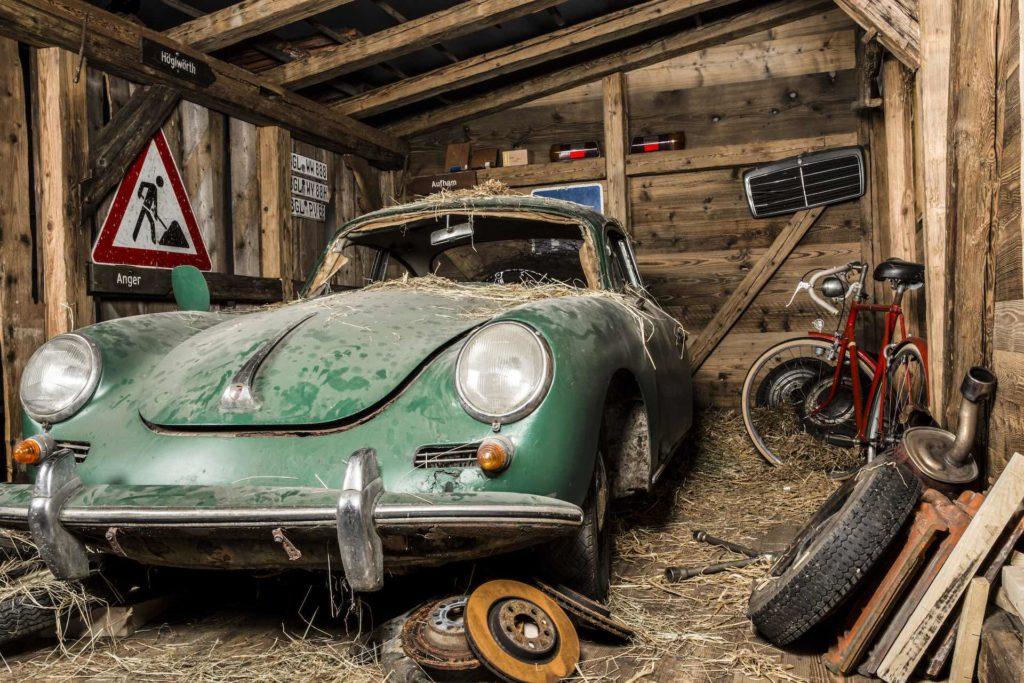 Scheunenfund Porsche 356C