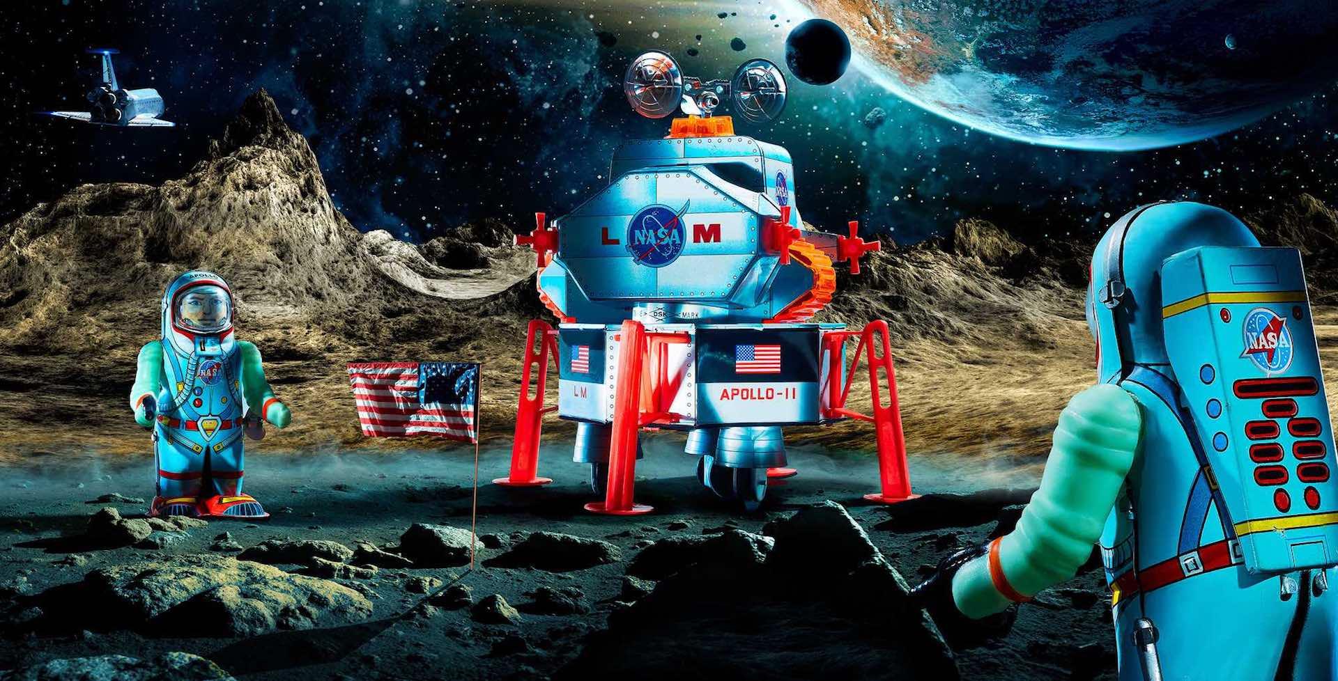 Sonderausstellung Space Toys im Traumwerk