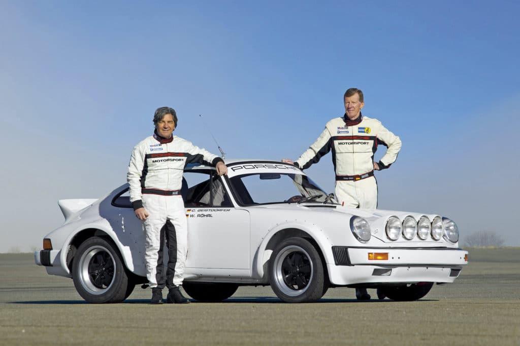 Röhrl und Porsche 911 SC