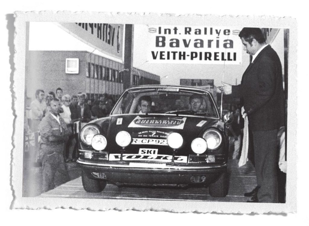 Rallye Bavaria Walter Röhrl Porsche
