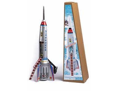Space Toy: Rakete im Traumwerk-Shop