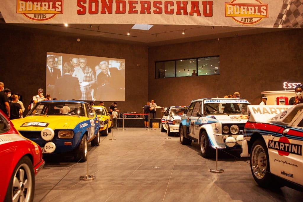 Sonderschau Röhrls Autos mit Walter Röhrl