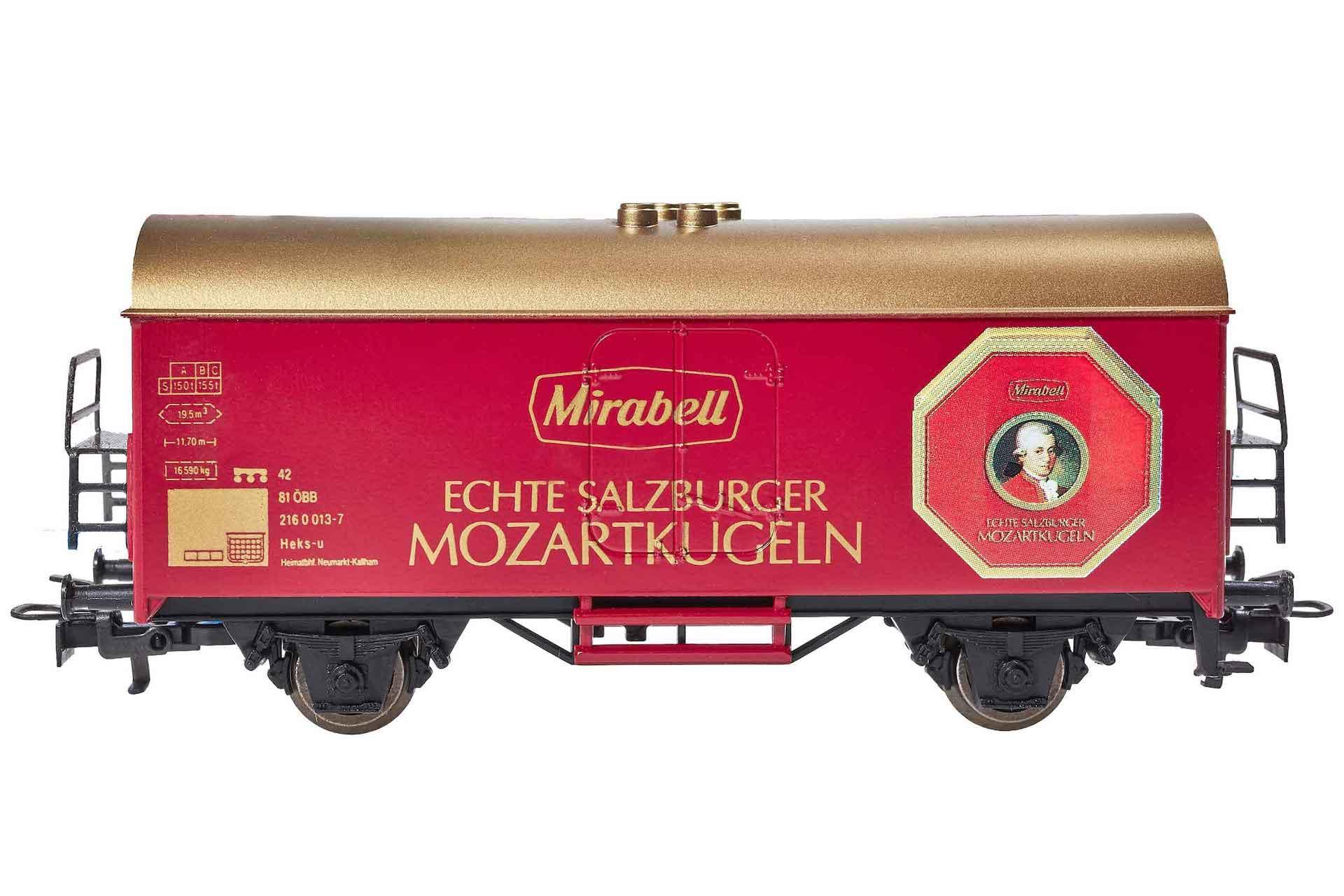 Model Railway Mozartkugeln Salzburg by Märklin