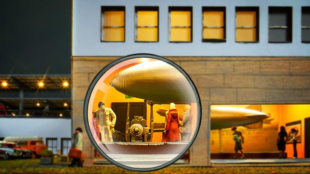 Schon entdeckt Zeppelinmuseum Modelleisenbahn